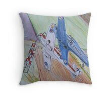 King's Cup Air Race Close up Throw Pillow