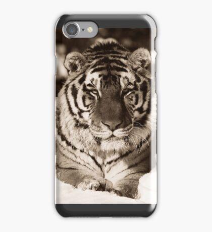 Tiger in Black & White iPhone Case/Skin