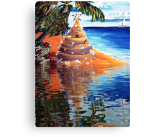 At The Waters Edge Canvas Print