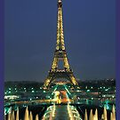 Eiffel Tower - Paris by SOIL