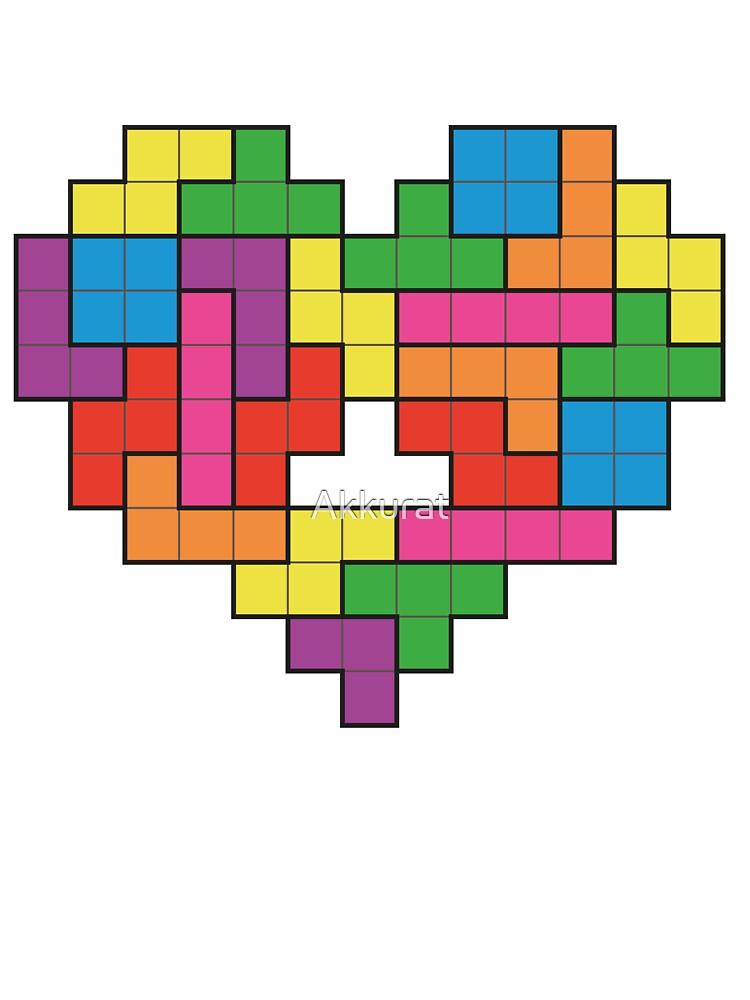 Tetris by Akkurat