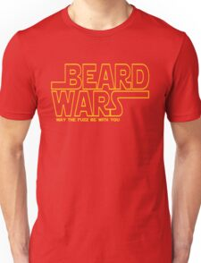 Beard Wars May The Fuzz Be With You Men's Funny Beard Sci-fi  Unisex T-Shirt