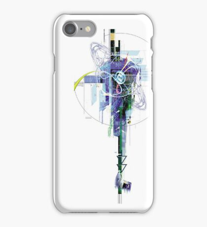 Abstract Tech iPhone Case/Skin