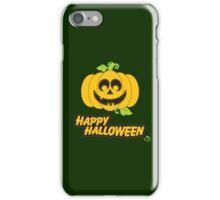 Jack O' Lantern Happy Halloween iPhone Case/Skin