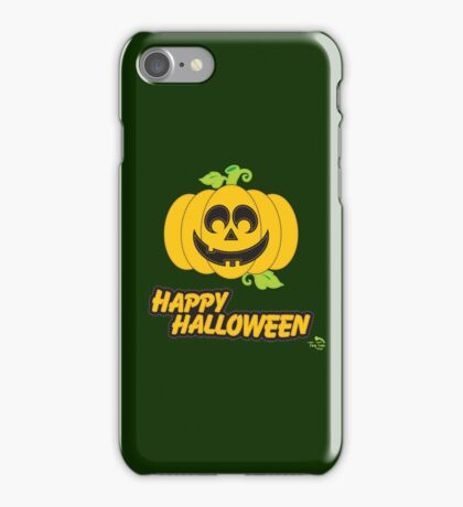 Jack O' Lantern Happy Halloween iPhone Case/Skin