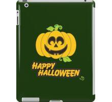 Jack O' Lantern Happy Halloween iPad Case/Skin