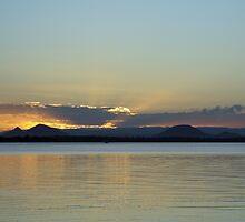Bribie Island Sunset by STHogan