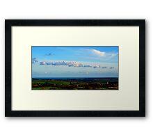CORNWALL COUNTRYSIDE Framed Print