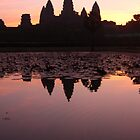 Angkor Wat at Sunrise by JustLikeKat