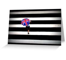 England - Sao Paulo Greeting Card