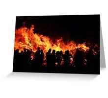 Pyromaniacs Annual Meeting Greeting Card
