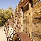 Twenty Mule Team Wagons Side View by JustLikeKat