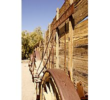 Twenty Mule Team Wagons Side View Photographic Print