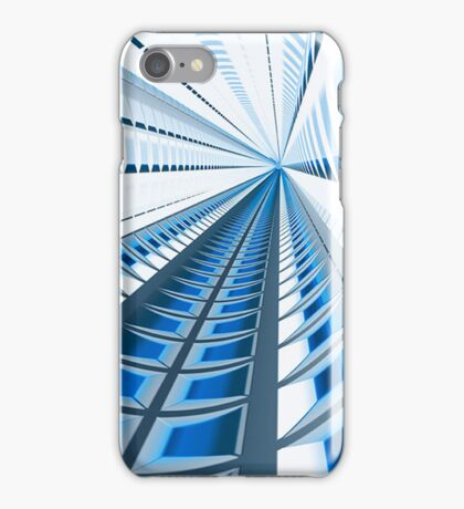 Blue Matrix iPhone Case/Skin