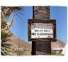 No Shooting Poster