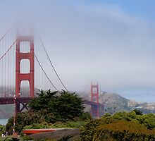 Golden Gate Bridge by JustLikeKat