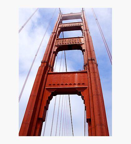 Golden Gate Bridge Arch Photographic Print