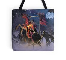 Count Vlad, the Blood Knight Tote Bag