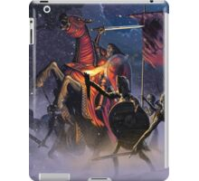 Count Vlad, the Blood Knight iPad Case/Skin