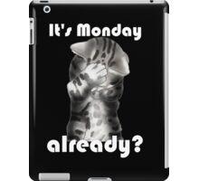 Facepalm cat says.... iPad Case/Skin