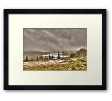 Scottish Highlands Landscape Framed Print