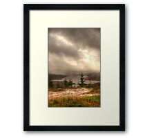 Scottish Highlands Portrait Framed Print