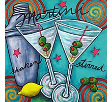 Retro Martini Photographic Print