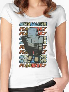 Beastie Boys - Intergalactic Planatary Women's Fitted Scoop T-Shirt