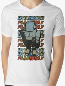 Beastie Boys - Intergalactic Planatary Mens V-Neck T-Shirt