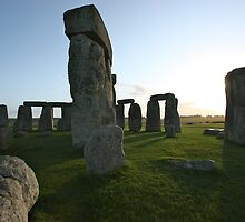 Stonehenge sunrise by SMCK