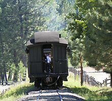 Pine Caboose - SVRR by BettyEDuncan