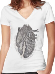 'Secrets I Have Held In My Heart'  Women's Fitted V-Neck T-Shirt