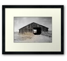 West Texas Drought  Framed Print