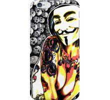 secse fawkes iphone  iPhone Case/Skin