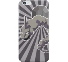 Boulder Badge Onix iPhone Case/Skin