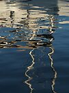 Mediterranean Water Abstract (2) by Themis