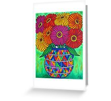 Zinnia Fiesta Greeting Card