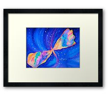 Watercolor Butterfly Nebula-Star Seeker........ Framed Print