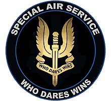 Special Air Service Logo Photographic Print