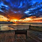 The bench is waiting for ya ! by Ronsho