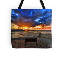 The bench is waiting for ya ! Tote Bag