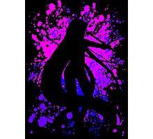 fate zero stay night rider paint splatter anime manga shirt Photographic Print
