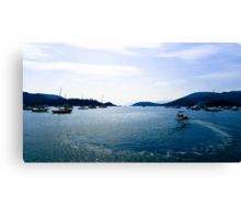 Hebe Haven, Sai Kung, Hong Kong Canvas Print