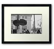 Arcade Restaurant, Memphis, Tennessee Framed Print