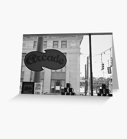 Arcade Restaurant, Memphis, Tennessee Greeting Card