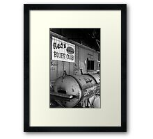 Red's Blues Club, Clarksdale, Mississippi Framed Print
