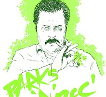 Parks n Rec 420 by VictoriousG