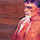 Portrait of a Man by Roz McQuillan