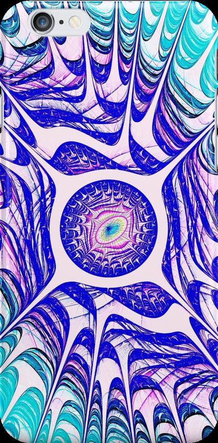 Water Dragon Eye iPhone Case by Anastasiya Malakhova
