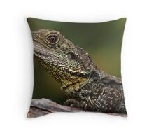 Gippsland Water Dragon Throw Pillow